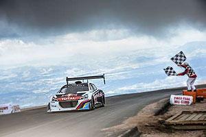 Peugeot Blitzes Pikes Peak